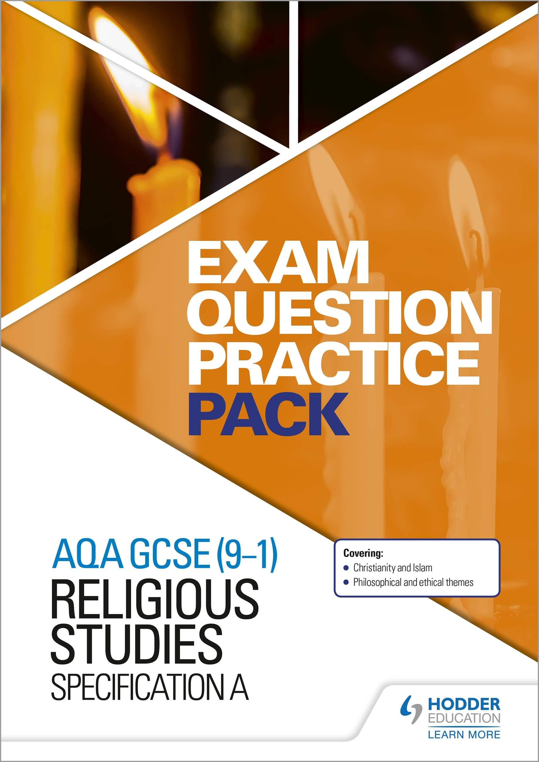 AQA GCSE (9-1) Religious Studies A: Exam Question Practice Pack